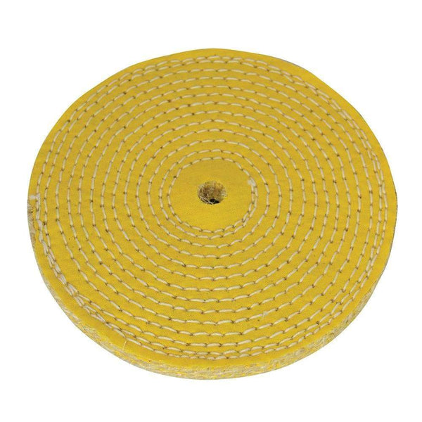 Sisal Buffing Wheel - 150mm - Power Tool Accessories - Trade Building Products