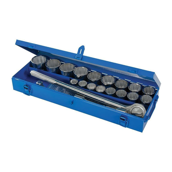 "Socket Set 3/4"" Drive Metric 21 Piece - Socket Set - Trade Building Products"