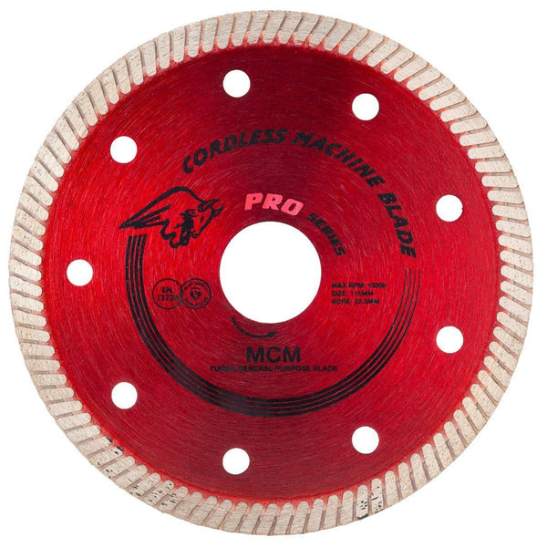 Spectrum Turbo General Purpose Blade for Cordless Machines - Diamond Blade - Trade Building Products