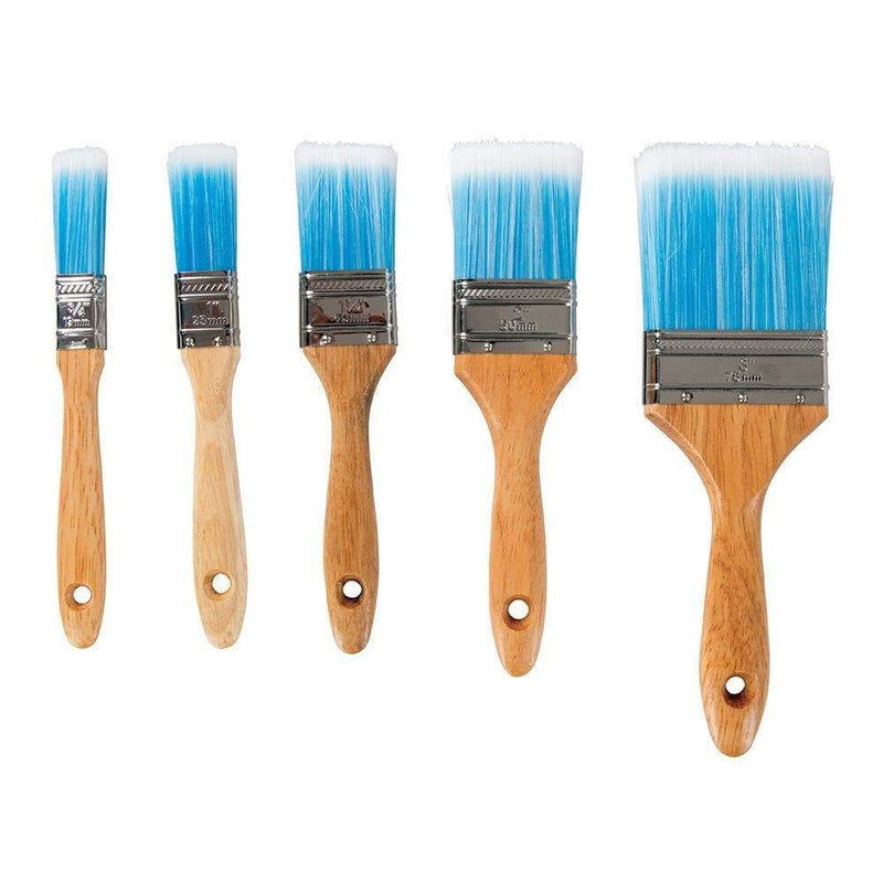 Synthetic Brush Set 5pce - Hand Tools - Trade Building Products