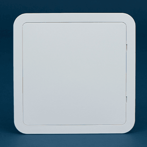 Timloc Plastic Access Panel - 305 x 305mm - Hinged White - Access Panels - Trade Building Products