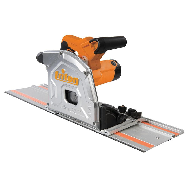 Triton TTS185KIT 1400W Track Saw Kit 185mm - 4 Piece - Woodwork Accessories - Trade Building Products