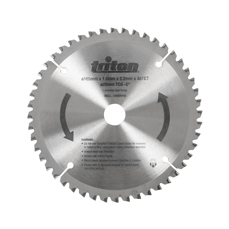 Triton TTS48TCG Plunge Track Saw Blade 48T - Power Tool Accesories - Trade Building Products