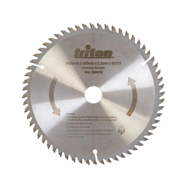 Triton TTS60T Plunge Track Saw Blade 60T - Power Tool Accesories - Trade Building Products