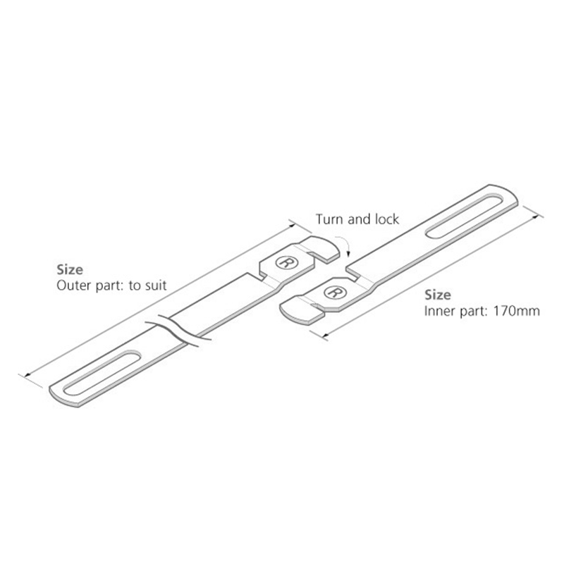 Two Part Wall Ties - Stainless Steel - TTTP - - Wall Ties - Trade Building Products