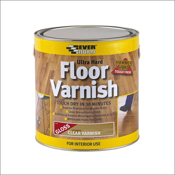 Ultra Hard Floor Varnish - - Wood Treatment - Trade Building Products
