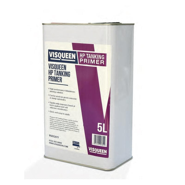 Visqueen HP Tanking Primer - 5L - - Waterproofing - Trade Building Products