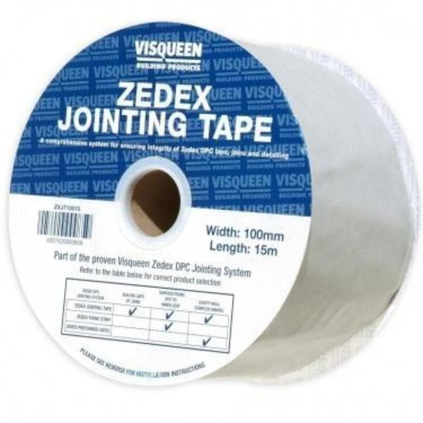 Visqueen Zedex DPC Jointing Tape - F30 Building Products Ltd.