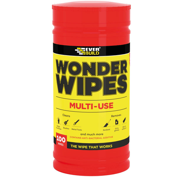 Wonder Wipes - Multi-Use - Trade Tub - Cleaners - Trade Building Products