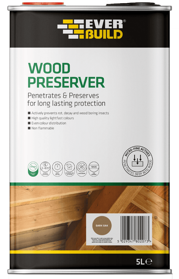 Wood Preserver - Wood Treatment - Trade Building Products