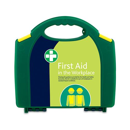 Workplace First Aid Kit – HSE Compliant-Medium - Fixings - Trade Building Products