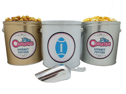 1 Gallon Trio Popcorn Bar (with silver scoop)