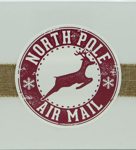 Cassie's Gourmet Popcorn North Pole Air Mail Gift Box