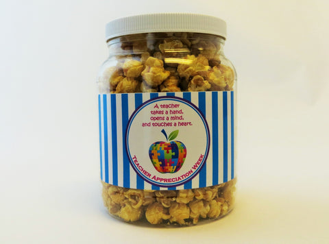 Cassie's Gourmet Popcorn Teacher Appreciation Signature Jar