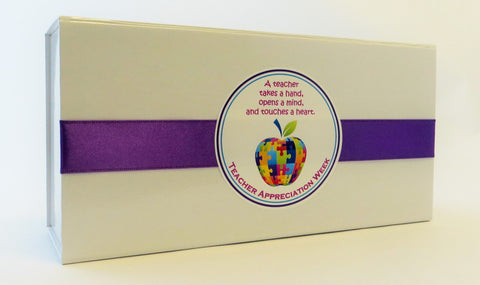 Cassie's Gourmet Popcorn Teacher Appreciation Sweet and Spicy Gift Box