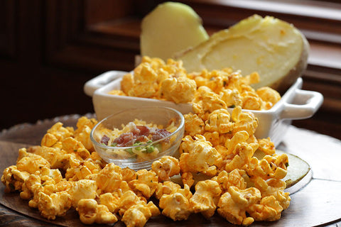 Cassie's Gourmet Popcorn Loaded Baked Potato Popcorn