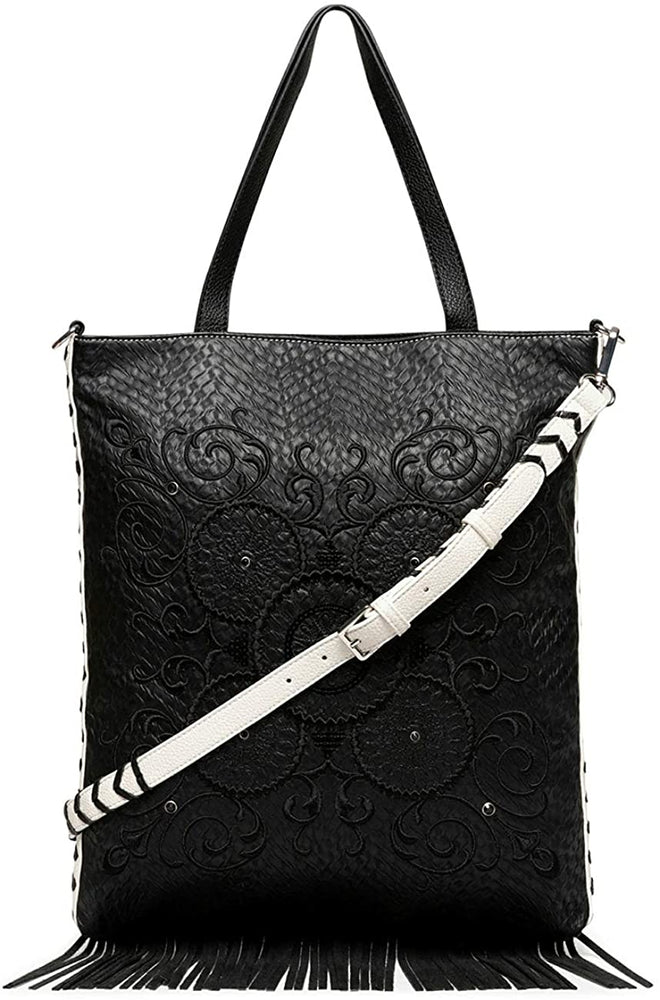 Bolso Black White Coro