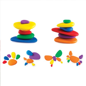 Rainbow Pebbles® Set in Container