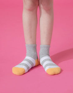 Bee Air Move Sport Socks ZH193 - Grey/yellow - L 19-22cm