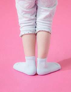 Simple Baby Cushion Socks - blue - XS (8-12cm)