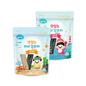 [NAEBRO] PURE-EAT DELICIOUS SEAWEED SNACK
