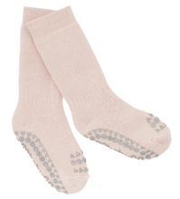 Load image into Gallery viewer, Non-slip socks - Soft Pink Glitter
