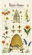 Load image into Gallery viewer, Cavallini Tea Towel - Bees & Honey