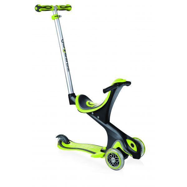 GLOBBER EVO COMFORT Convertible - Lime Green - Early Sep