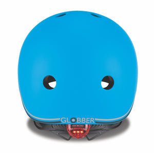 Globber Helmet w/Flashing LED Light  51-55cm