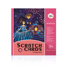 Load image into Gallery viewer, SCRATCH CARD SET-CINDERELLA