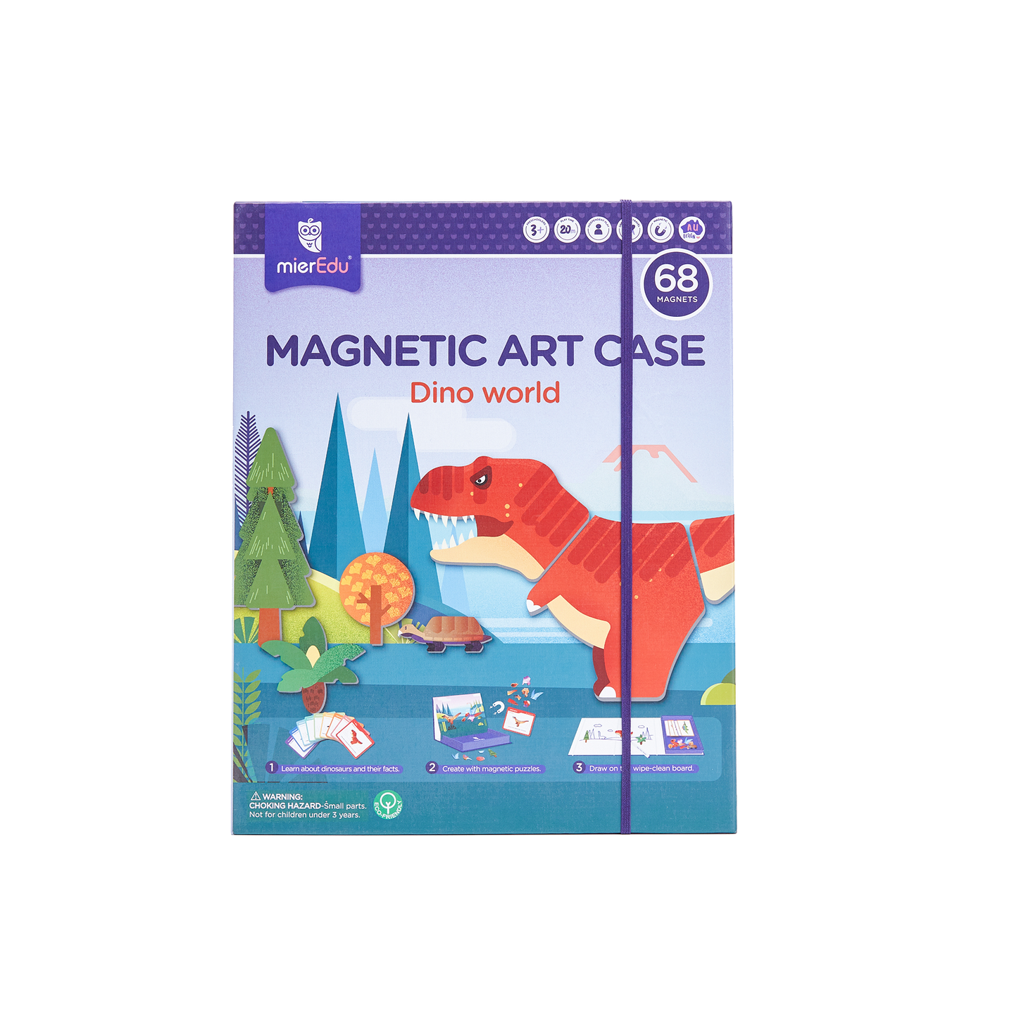 Magnetic Art Case - Dino World