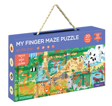 Load image into Gallery viewer, MY FINGER MAZE PUZZLE - At the Zoo