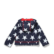 Load image into Gallery viewer, Navy Star Raincoat