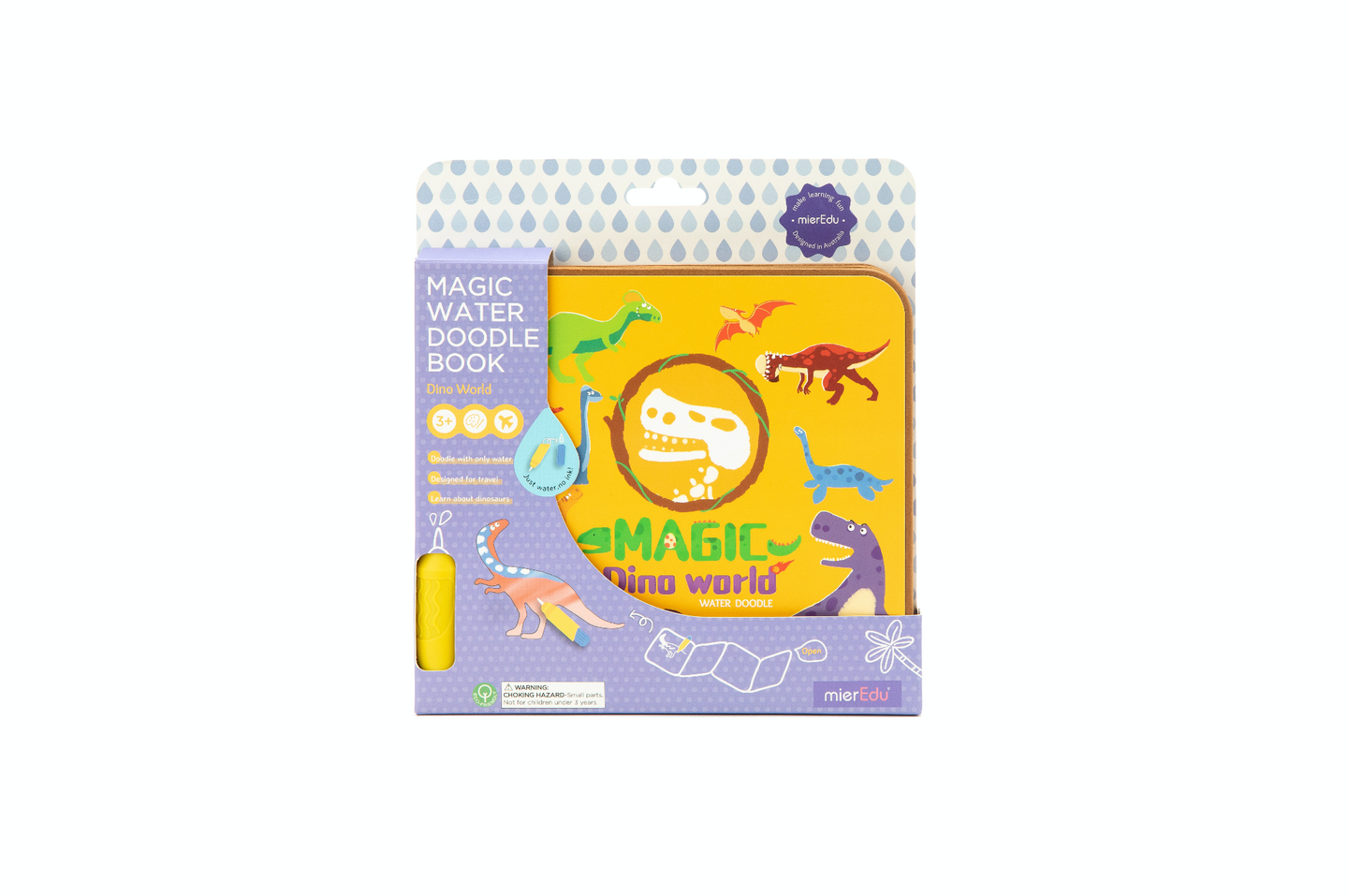 Magic Water Doodle Book - Dino World