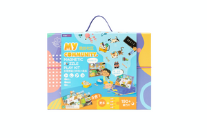 Magnetic Puzzle Play Kit - My Community