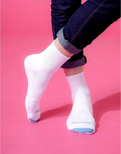 Load image into Gallery viewer, Spiral LIGHT Compression Socks (White) Men - Size L