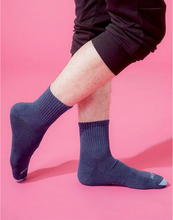 Load image into Gallery viewer, Spiral LIGHT Compression Socks (Blue) Men - Size XL