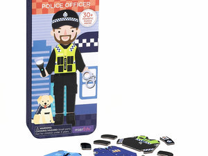 Travel Magnetic Puzzle Box - Police Officer