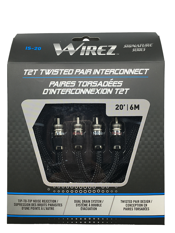 WIREZ 2 Channel Interconnect - 20ft