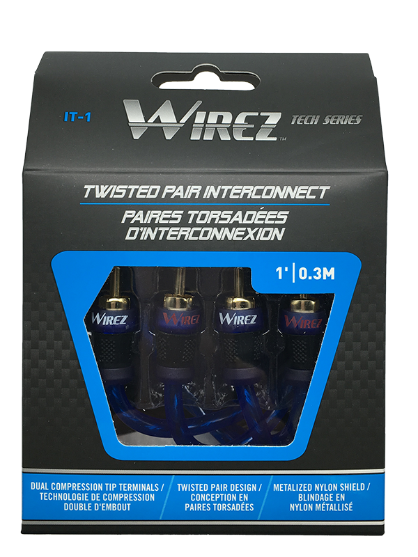 WIREZ 2 Channel Interconnect - 1ft