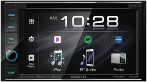 "KENWOOD eXcelon DDX396 6.2"" WVGA/1 R USB/DUAL BT/MAESTRO/SIRIUSXM/5V PRE OUT/3 WAY X-OVER/ROTARY VOLUME"
