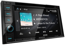 "Load image into Gallery viewer, KENWOOD eXcelon DDX396 6.2"" WVGA/1 R USB/DUAL BT/MAESTRO/SIRIUSXM/5V PRE OUT/3 WAY X-OVER/ROTARY VOLUME"