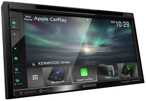"KENWOOD eXcelon DDX6906S 6.8"" WVGA/1  R USB/WIRED A-AUTO & CARPLAY/5V PRE OUT/HQ AUDIO/3 WAY X-OVER/2 CAM"