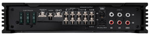KENWOOD eXcelon X802-5 5 CHANNEL 800W HI-RES CERTIFIED X-SERIES AMP, OPT. REMOTE LEVEL CONTROL KNOB READY (KCA-RC01A)