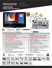 Load image into Gallery viewer, KENWOOD DMX1057XR eXcelon Reference - Digital Multimedia Receiver