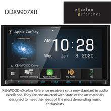"Load image into Gallery viewer, KENWOOD eXcelon DDX9907XR 6.8"" HD DISPLAY/CAP TCH/WIRELESS A-AUTO & CARPLAY/WIRED IPHONE & ANDROID MIRRORING/4 CAM"