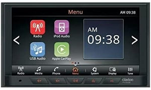 "Clarion FX508 Display Audio W/ 6.75"" Touch Panel Control W/ Android Auto & Apple Car Play"