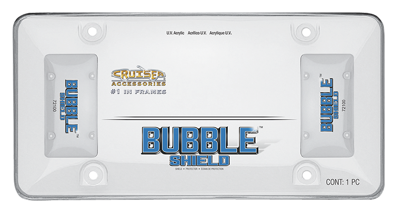 CRUISER ACCESSORIES - BUBBLE SHIELD, CLEAR