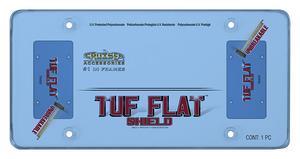 CRUISER ACCESSORIES - TUF FLAT SHIELD, BLUE