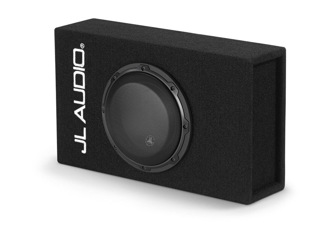 JL AUDIO ACP108LG-W3v3 Single 8W3v3 MicroSub+â  with DCDâ  Amplifier, Ported, 0.40 Ohms